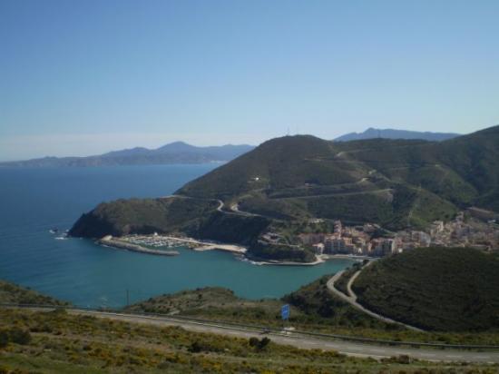 Vue sur l'Espagne
